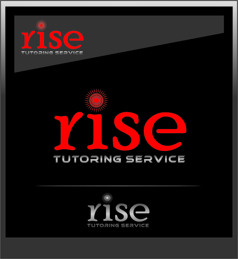 Logo Design by RoSyid Rono-Rene On Java - Entry No. 134 in the Logo Design Contest Imaginative Logo Design for Rise Tutoring Service.