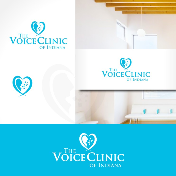 Logo Design by Private User - Entry No. 26 in the Logo Design Contest Logo Design for The Voice Clinic of Indiana.