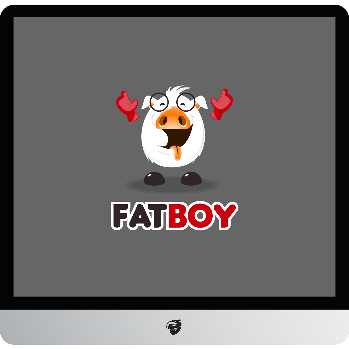 Logo Design by zesthar - Entry No. 53 in the Logo Design Contest Fun Logo Design for Fat Boy Ventures.