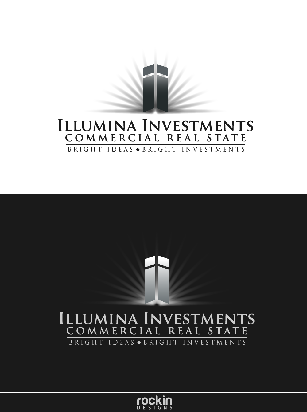 Logo Design by rockin - Entry No. 78 in the Logo Design Contest Creative Logo Design for Illumina Investments.