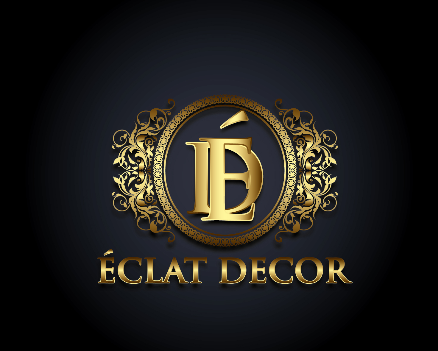 Logo Design by VENTSISLAV KOVACHEV - Entry No. 39 in the Logo Design Contest Imaginative Logo Design for Éclat Decor.