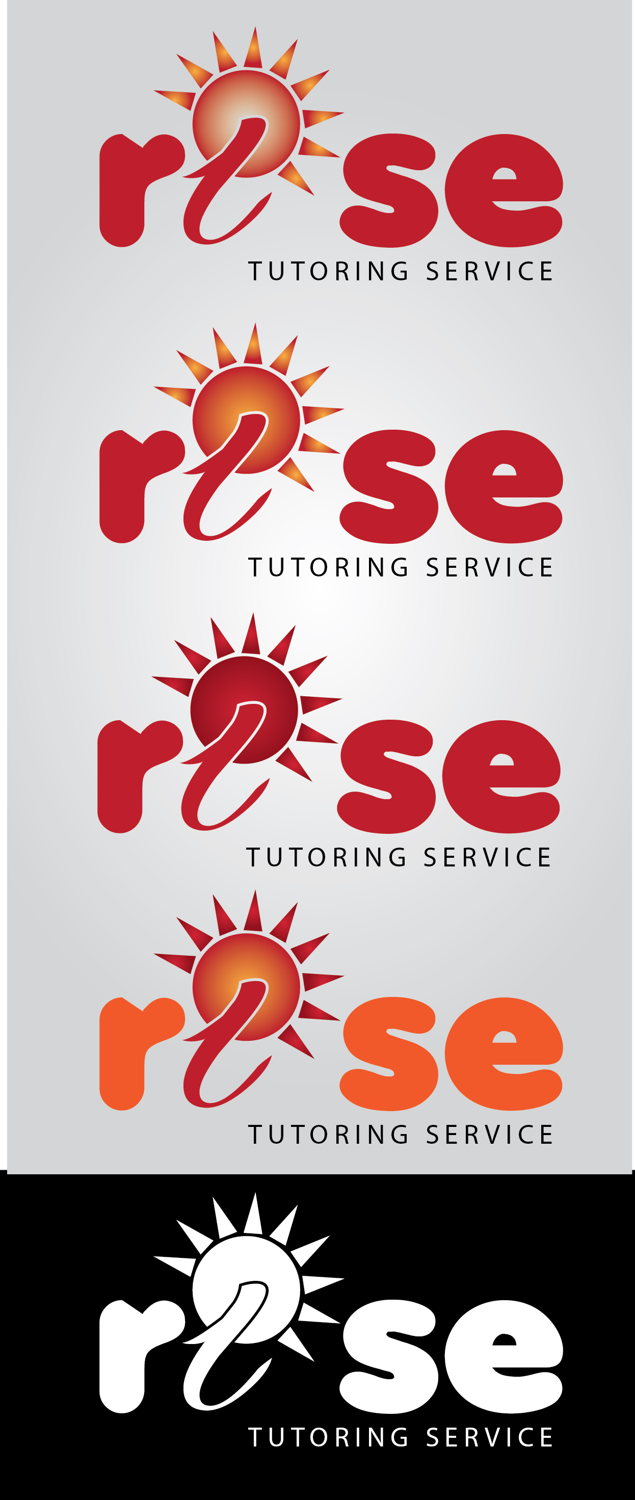 Logo Design by mediaproductionart - Entry No. 139 in the Logo Design Contest Imaginative Logo Design for Rise Tutoring Service.