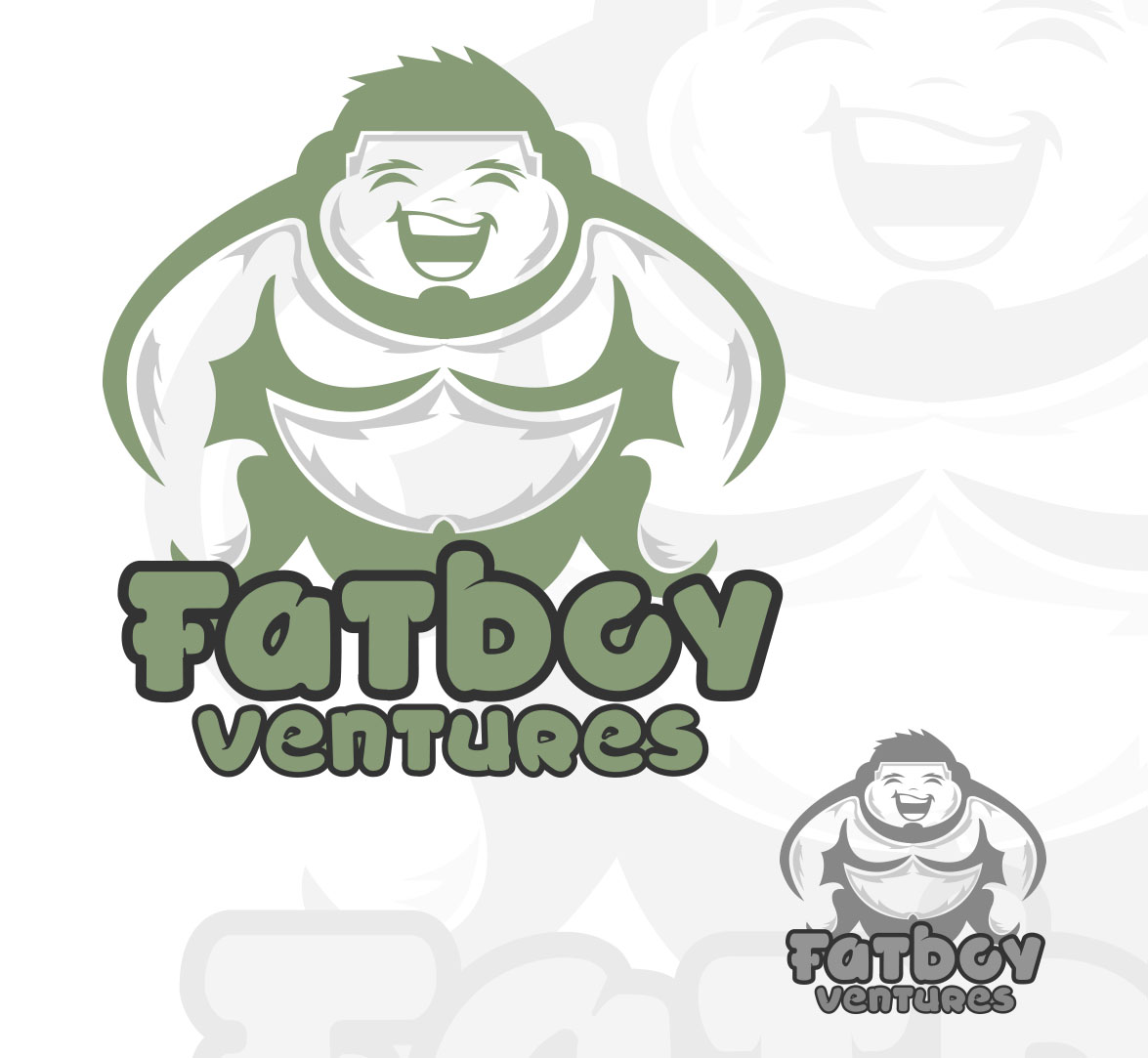 Logo Design by Michael Angelo Lagman - Entry No. 64 in the Logo Design Contest Fun Logo Design for Fat Boy Ventures.
