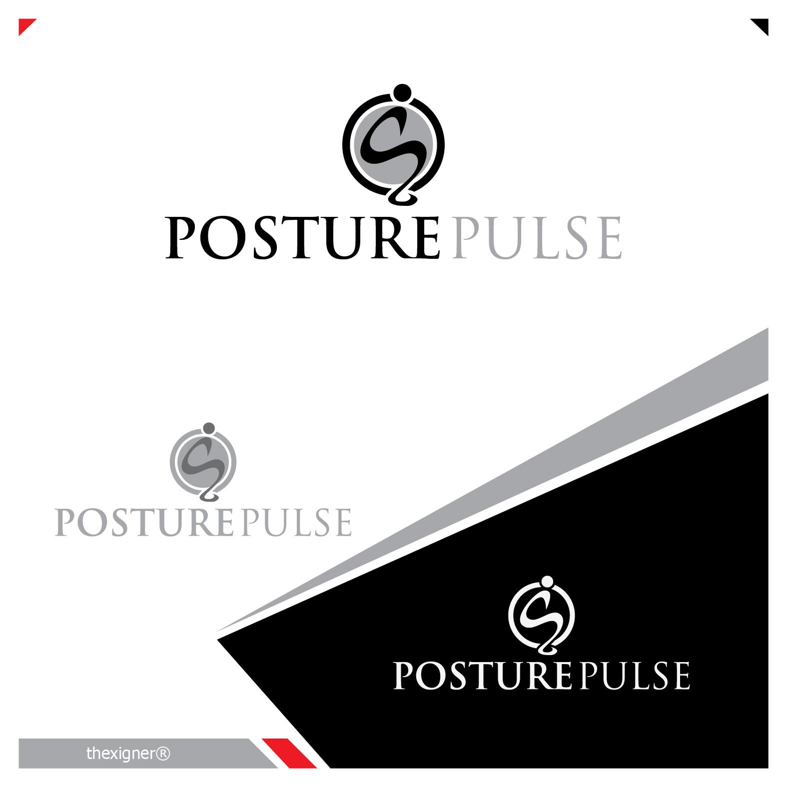 Logo Design by lagalag - Entry No. 69 in the Logo Design Contest Unique Logo Design Wanted for PosturePulse.