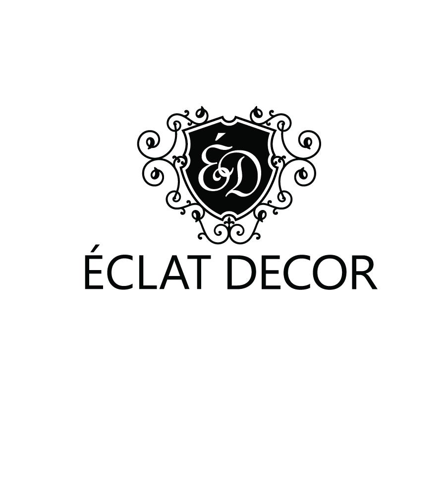 Logo Design by Christina Evans - Entry No. 40 in the Logo Design Contest Imaginative Logo Design for Éclat Decor.