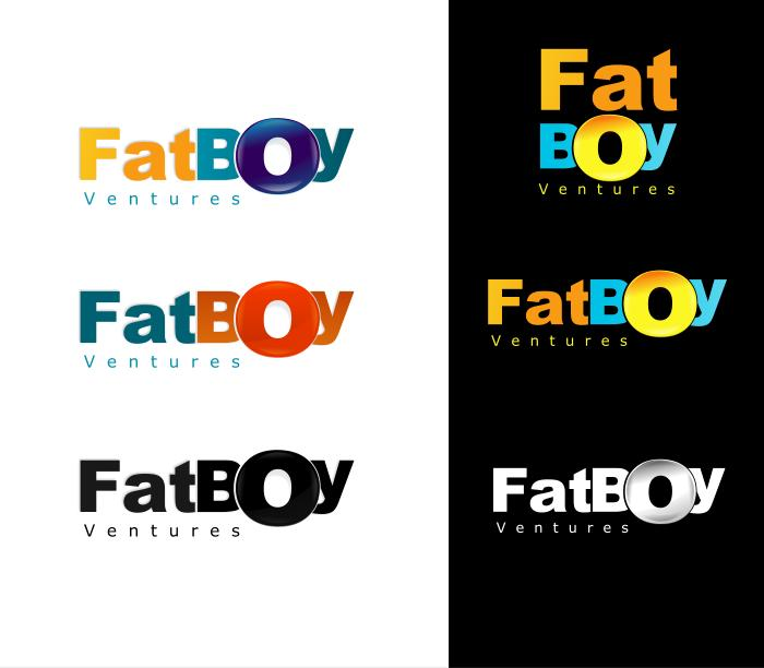 Logo Design by Private User - Entry No. 65 in the Logo Design Contest Fun Logo Design for Fat Boy Ventures.
