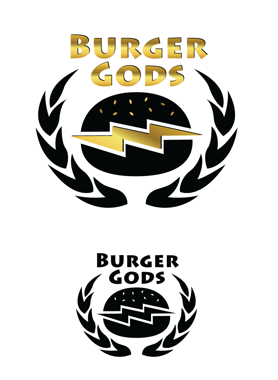 Logo Design by Christina Evans - Entry No. 3 in the Logo Design Contest Inspiring Logo Design for Burger Gods.