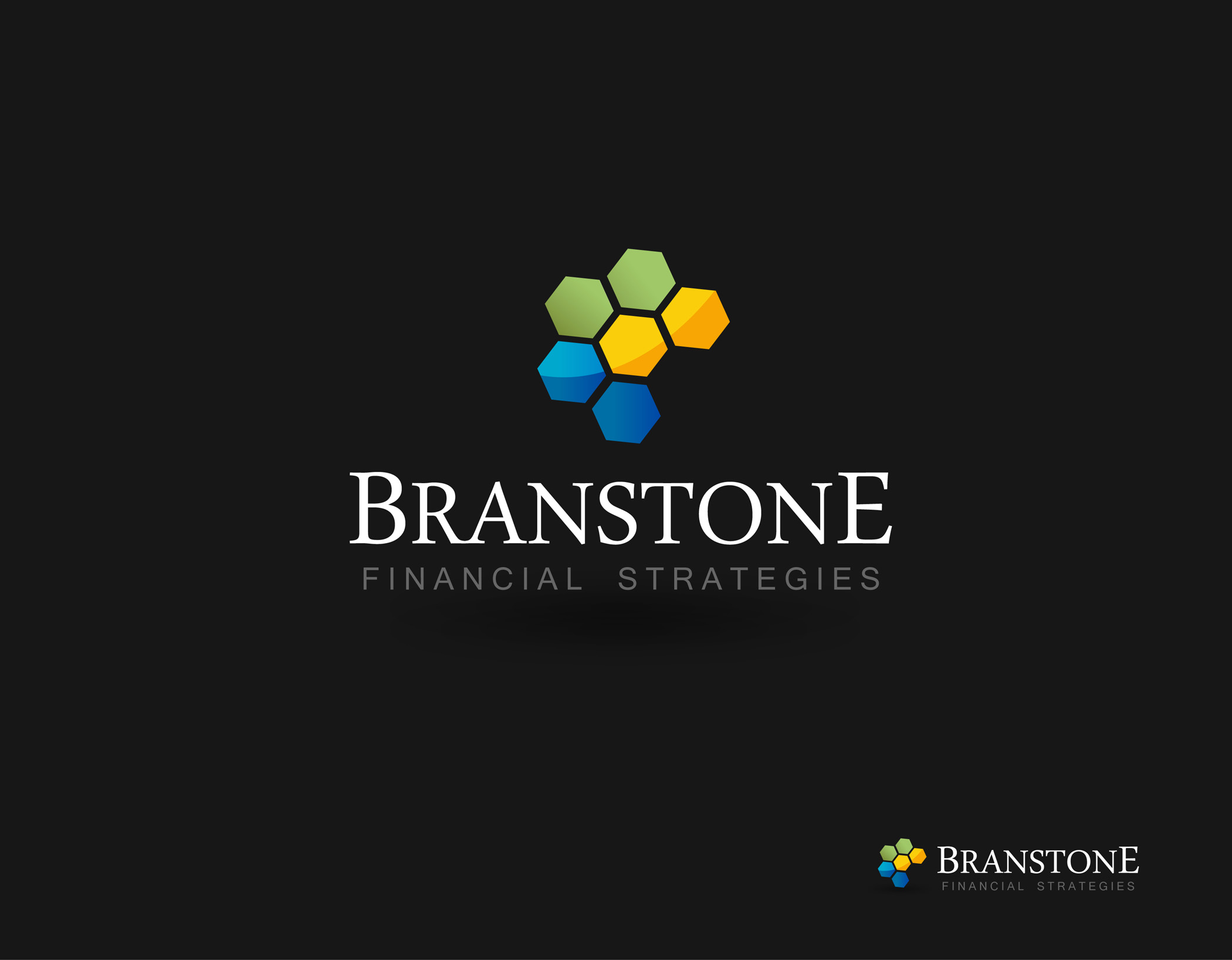 Logo Design by Mark Anthony Moreto Jordan - Entry No. 253 in the Logo Design Contest Inspiring Logo Design for Branstone Financial Strategies.