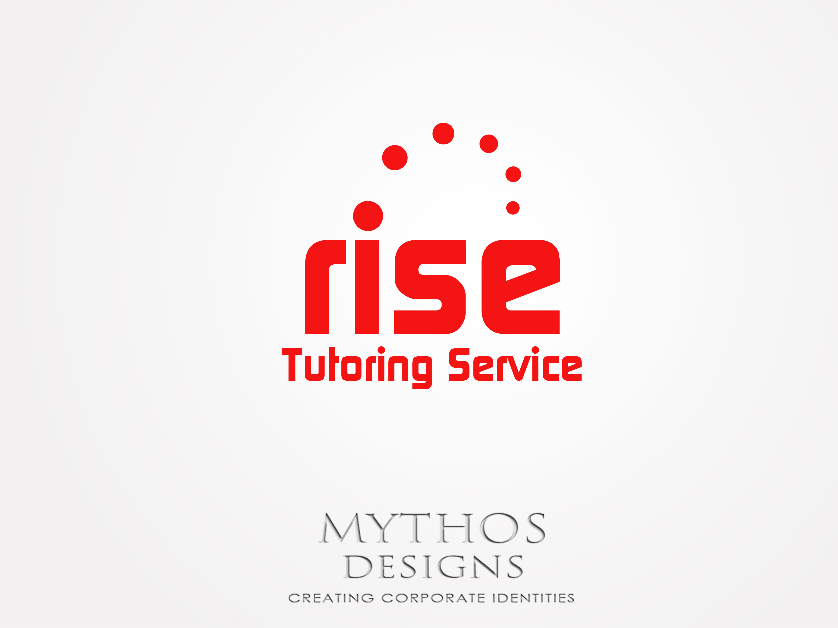 Logo Design by Mythos Designs - Entry No. 142 in the Logo Design Contest Imaginative Logo Design for Rise Tutoring Service.