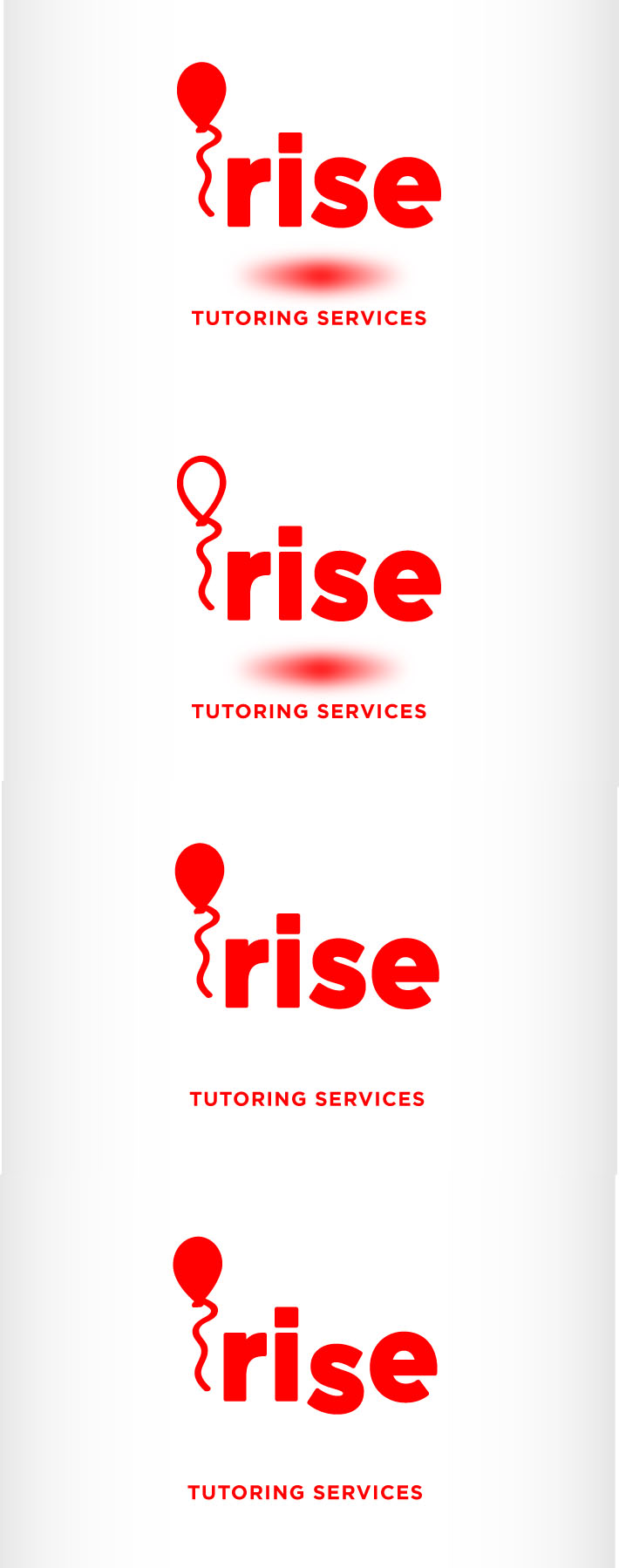 Logo Design by Andrés González - Entry No. 143 in the Logo Design Contest Imaginative Logo Design for Rise Tutoring Service.