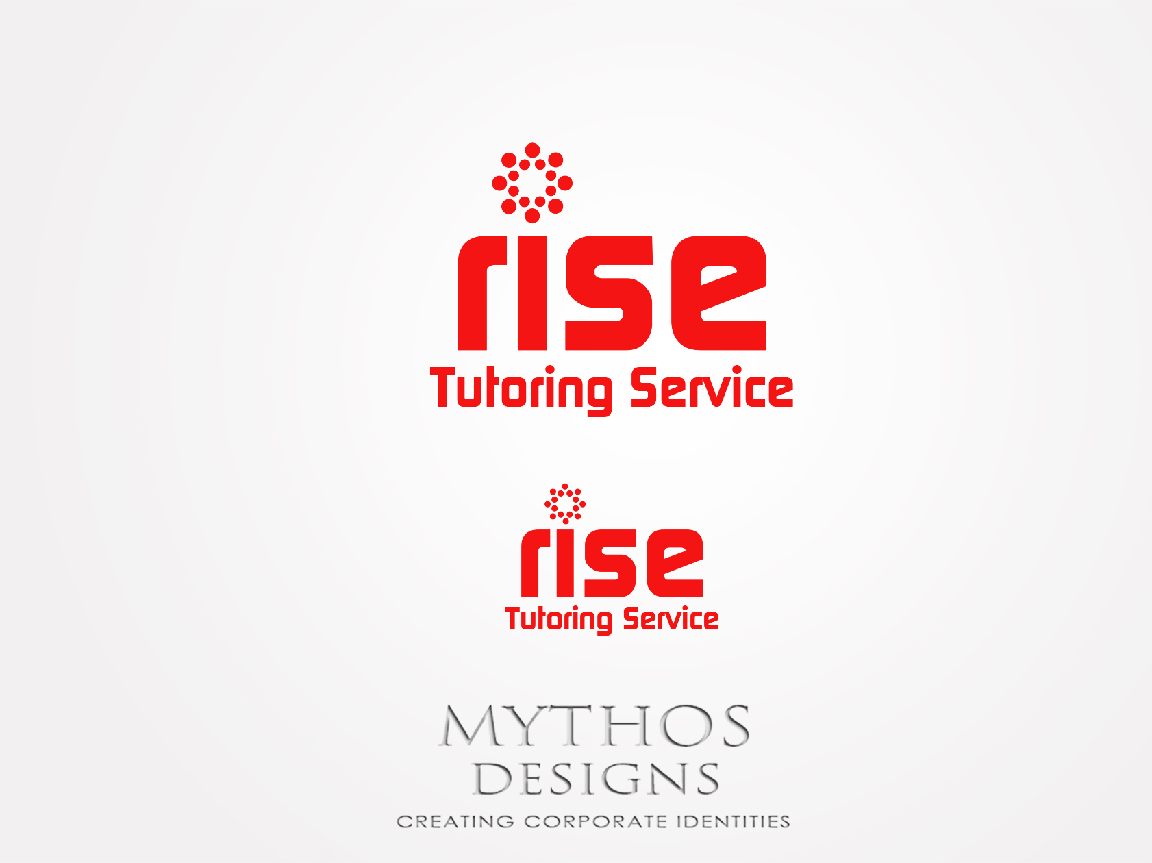 Logo Design by Mythos Designs - Entry No. 145 in the Logo Design Contest Imaginative Logo Design for Rise Tutoring Service.