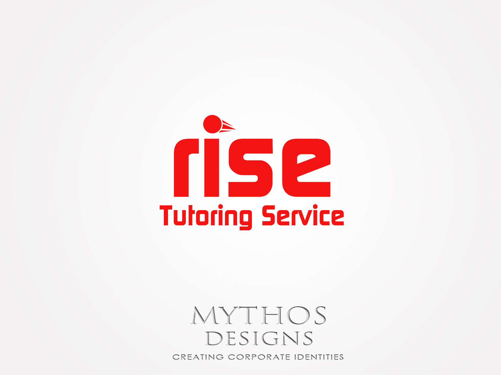 Logo Design by Mythos Designs - Entry No. 146 in the Logo Design Contest Imaginative Logo Design for Rise Tutoring Service.