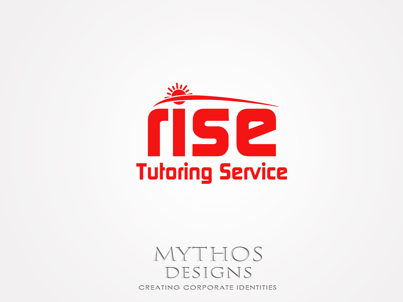 Logo Design by Mythos Designs - Entry No. 147 in the Logo Design Contest Imaginative Logo Design for Rise Tutoring Service.