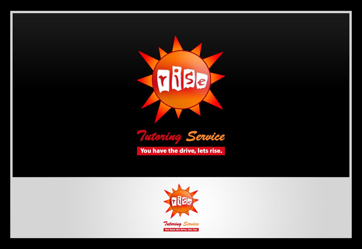 Logo Design by Private User - Entry No. 149 in the Logo Design Contest Imaginative Logo Design for Rise Tutoring Service.