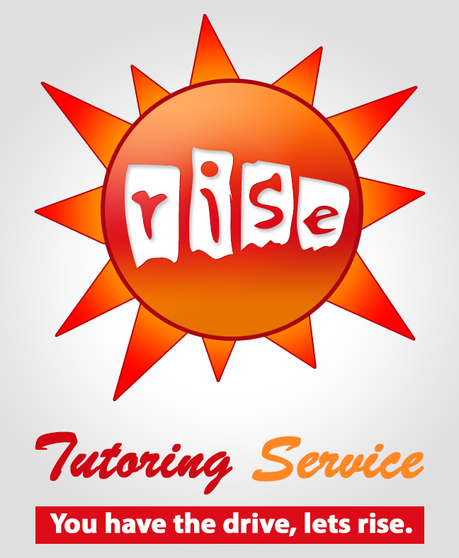 Logo Design by Private User - Entry No. 150 in the Logo Design Contest Imaginative Logo Design for Rise Tutoring Service.