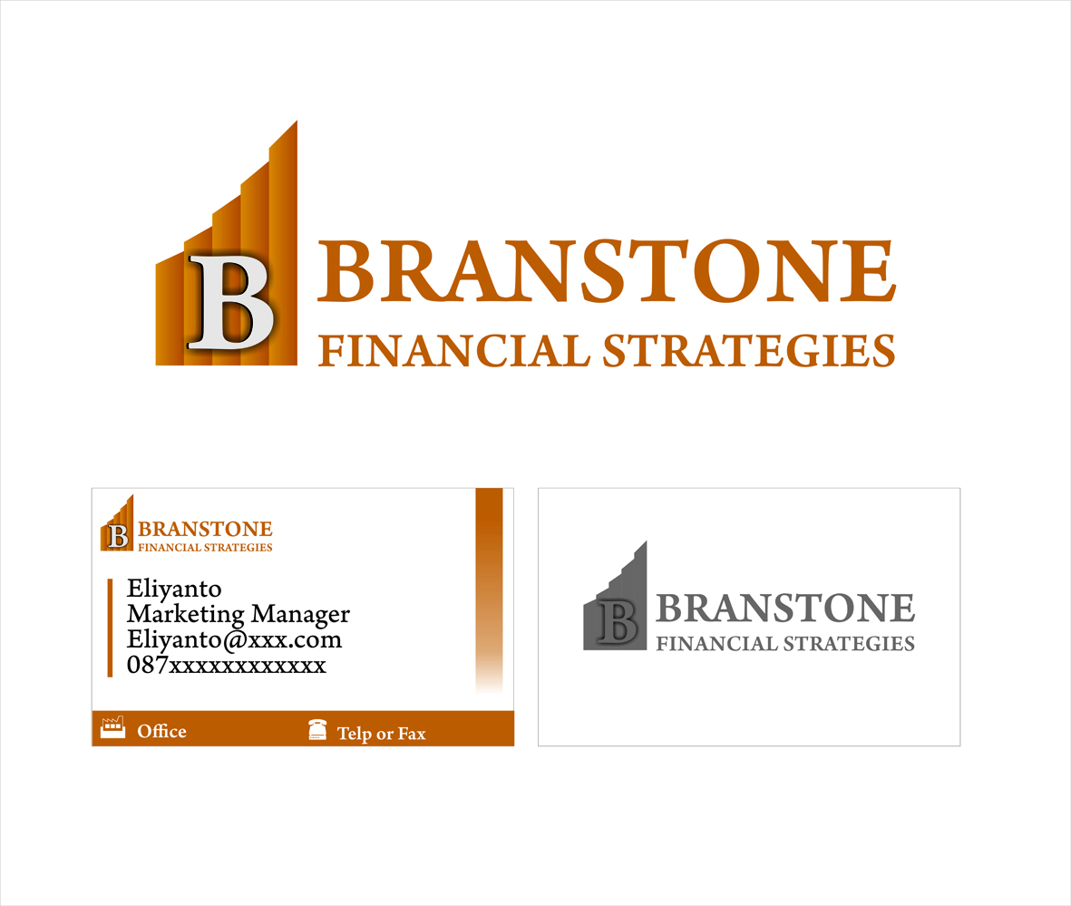 Logo Design by JOKO ELIYANTO - Entry No. 255 in the Logo Design Contest Inspiring Logo Design for Branstone Financial Strategies.
