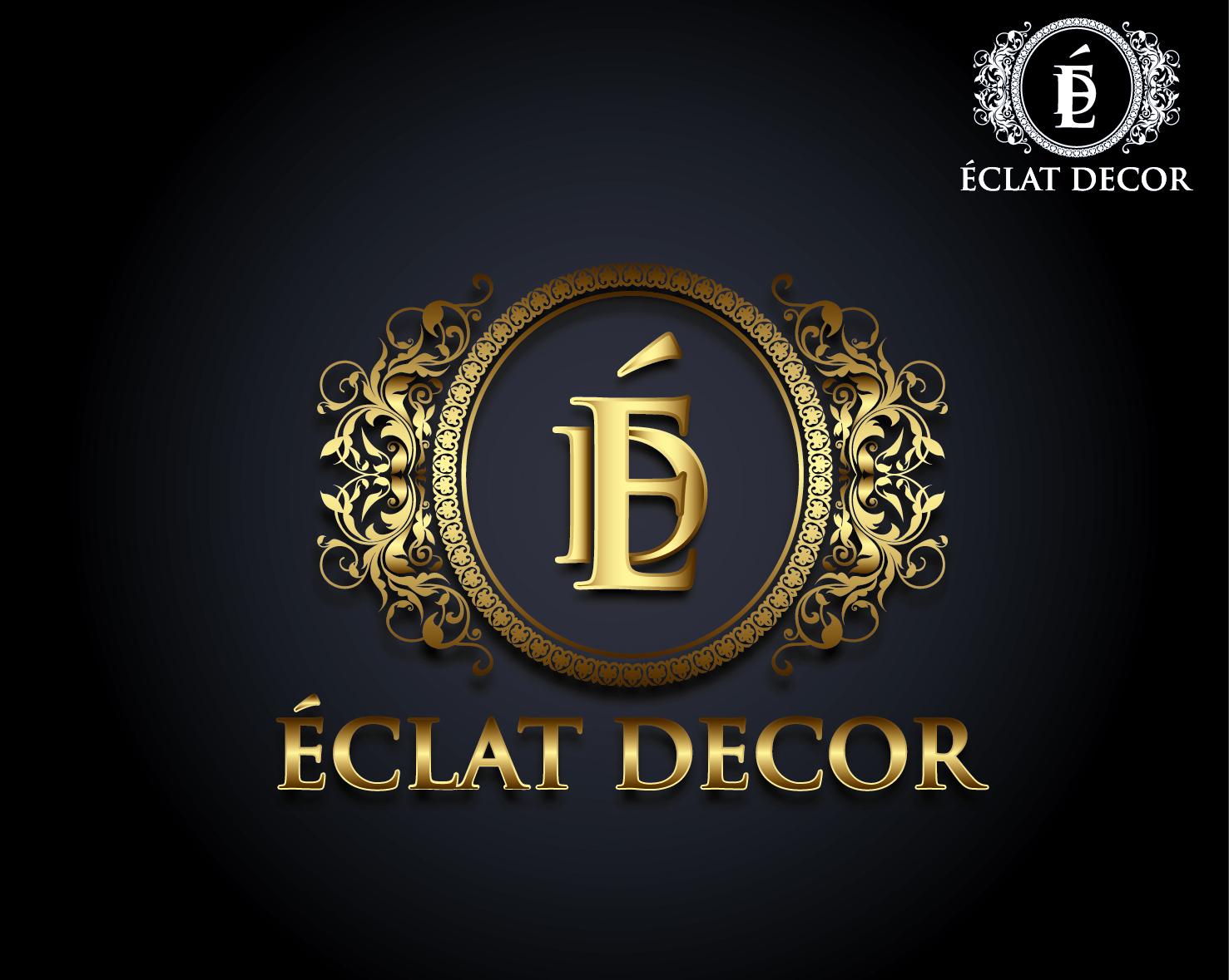 Logo Design by VENTSISLAV KOVACHEV - Entry No. 48 in the Logo Design Contest Imaginative Logo Design for Éclat Decor.