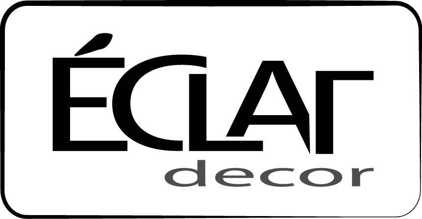 Logo Design by Susan Palmer - Entry No. 50 in the Logo Design Contest Imaginative Logo Design for Éclat Decor.