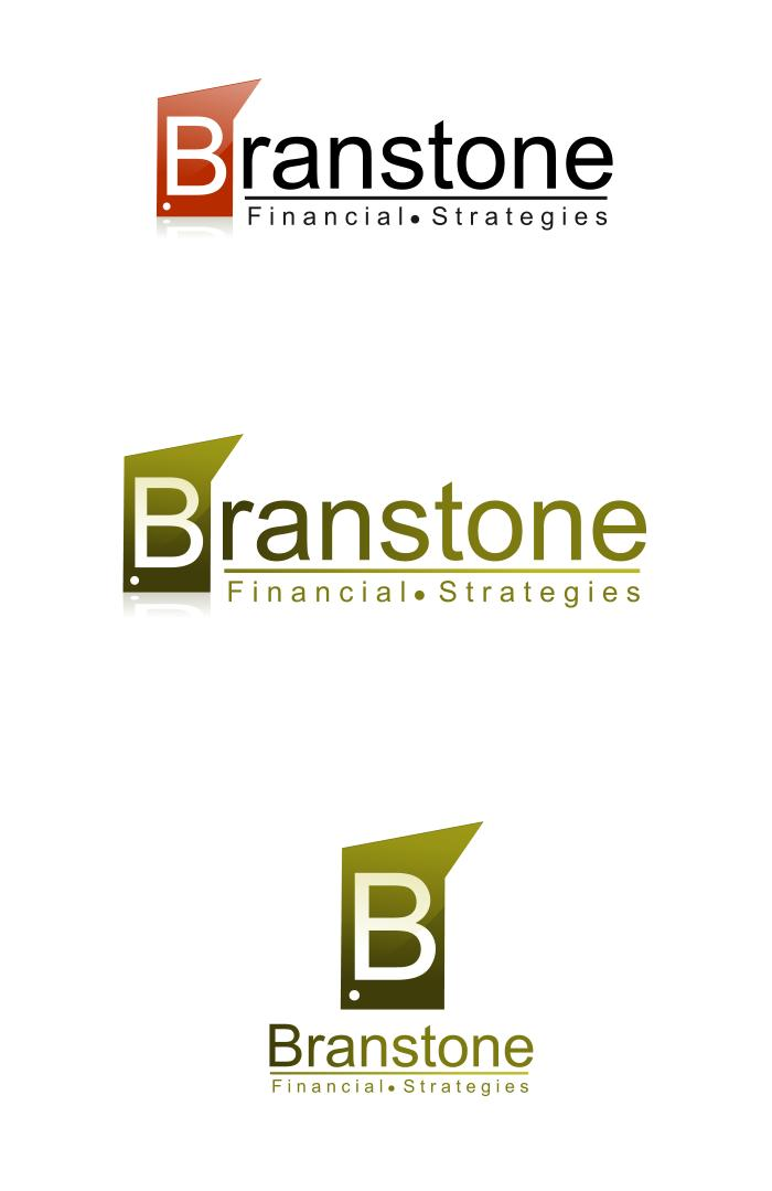 Logo Design by Private User - Entry No. 258 in the Logo Design Contest Inspiring Logo Design for Branstone Financial Strategies.