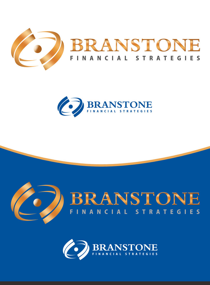 Logo Design by Private User - Entry No. 260 in the Logo Design Contest Inspiring Logo Design for Branstone Financial Strategies.