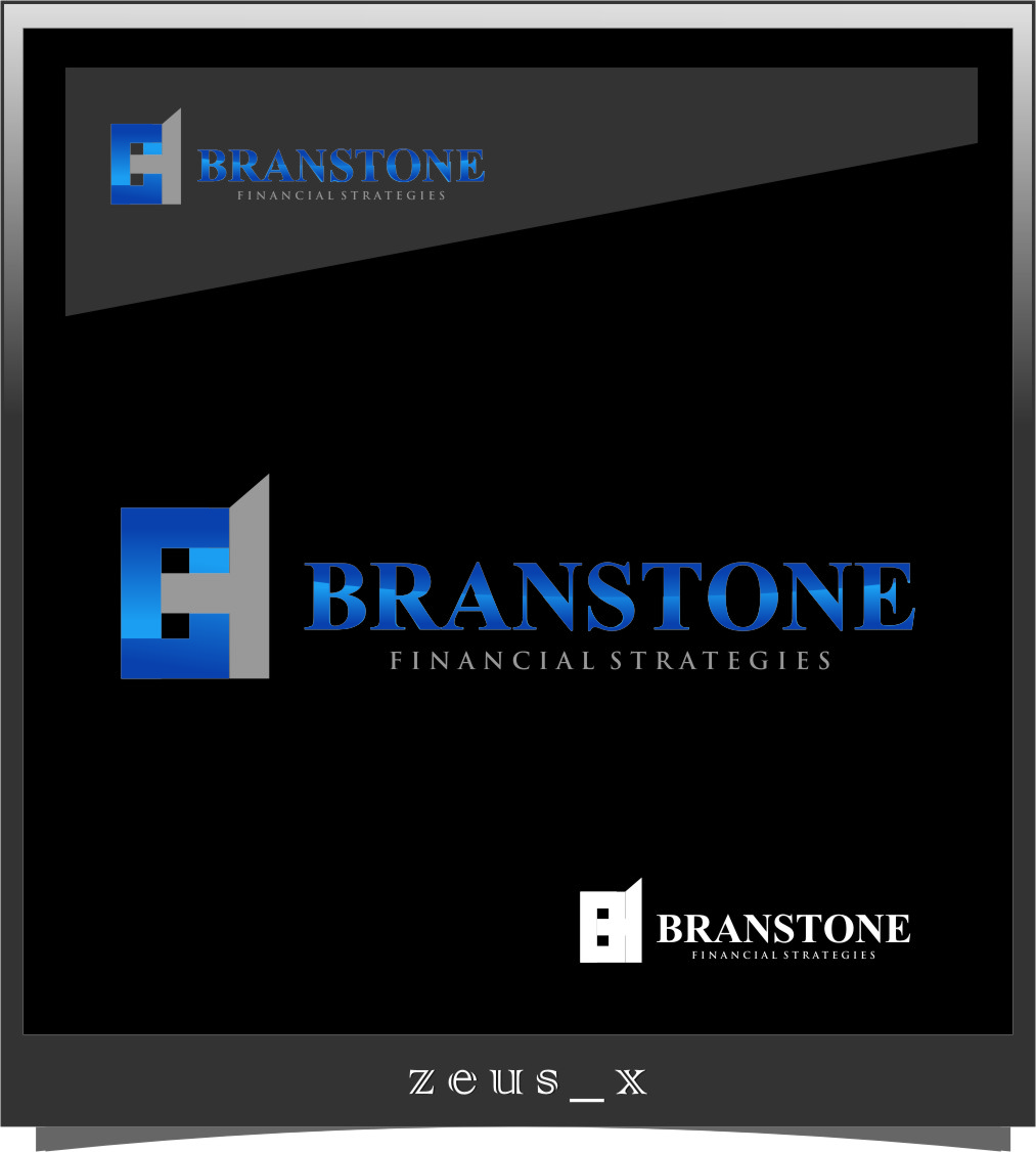 Logo Design by Ngepet_art - Entry No. 261 in the Logo Design Contest Inspiring Logo Design for Branstone Financial Strategies.