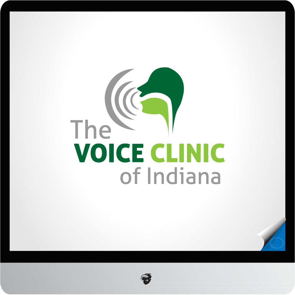 Logo Design by zesthar - Entry No. 33 in the Logo Design Contest Logo Design for The Voice Clinic of Indiana.
