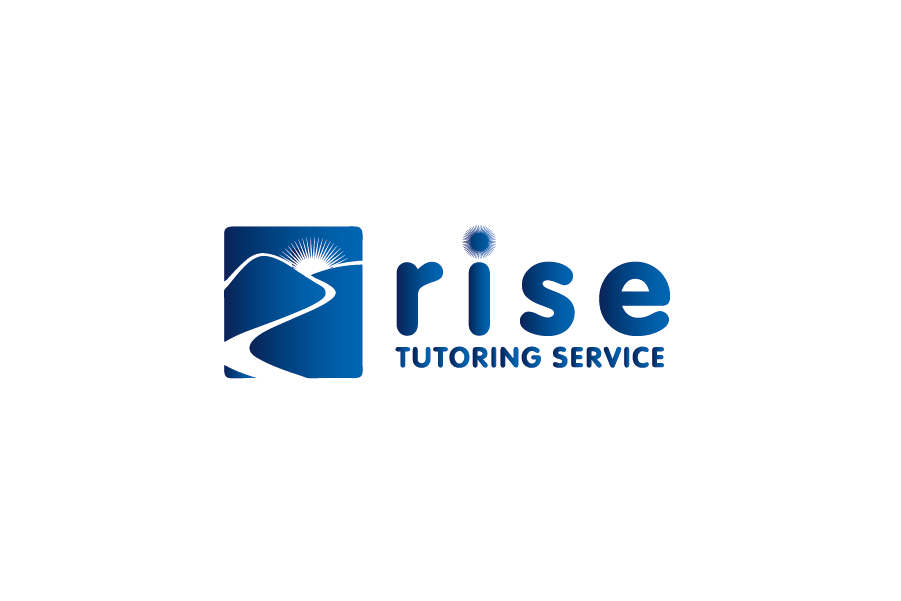 Logo Design by Private User - Entry No. 169 in the Logo Design Contest Imaginative Logo Design for Rise Tutoring Service.