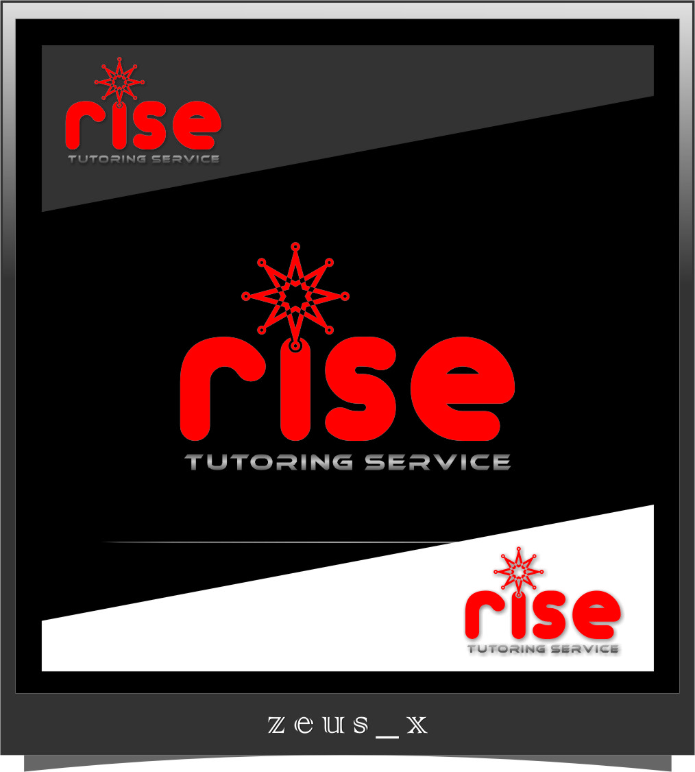 Logo Design by RasYa Muhammad Athaya - Entry No. 170 in the Logo Design Contest Imaginative Logo Design for Rise Tutoring Service.