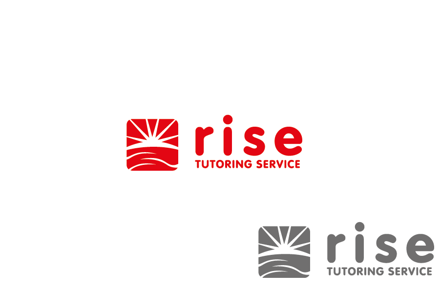 Logo Design by Private User - Entry No. 172 in the Logo Design Contest Imaginative Logo Design for Rise Tutoring Service.