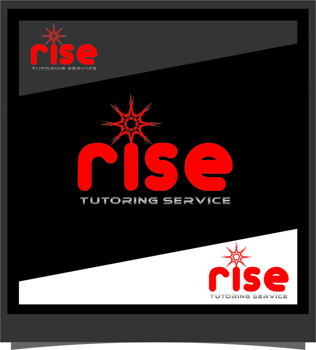 Logo Design by RasYa Muhammad Athaya - Entry No. 175 in the Logo Design Contest Imaginative Logo Design for Rise Tutoring Service.