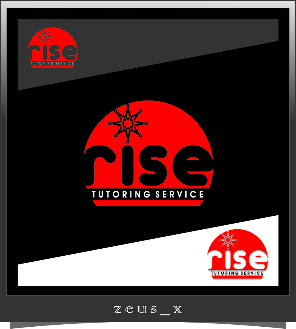 Logo Design by RasYa Muhammad Athaya - Entry No. 176 in the Logo Design Contest Imaginative Logo Design for Rise Tutoring Service.