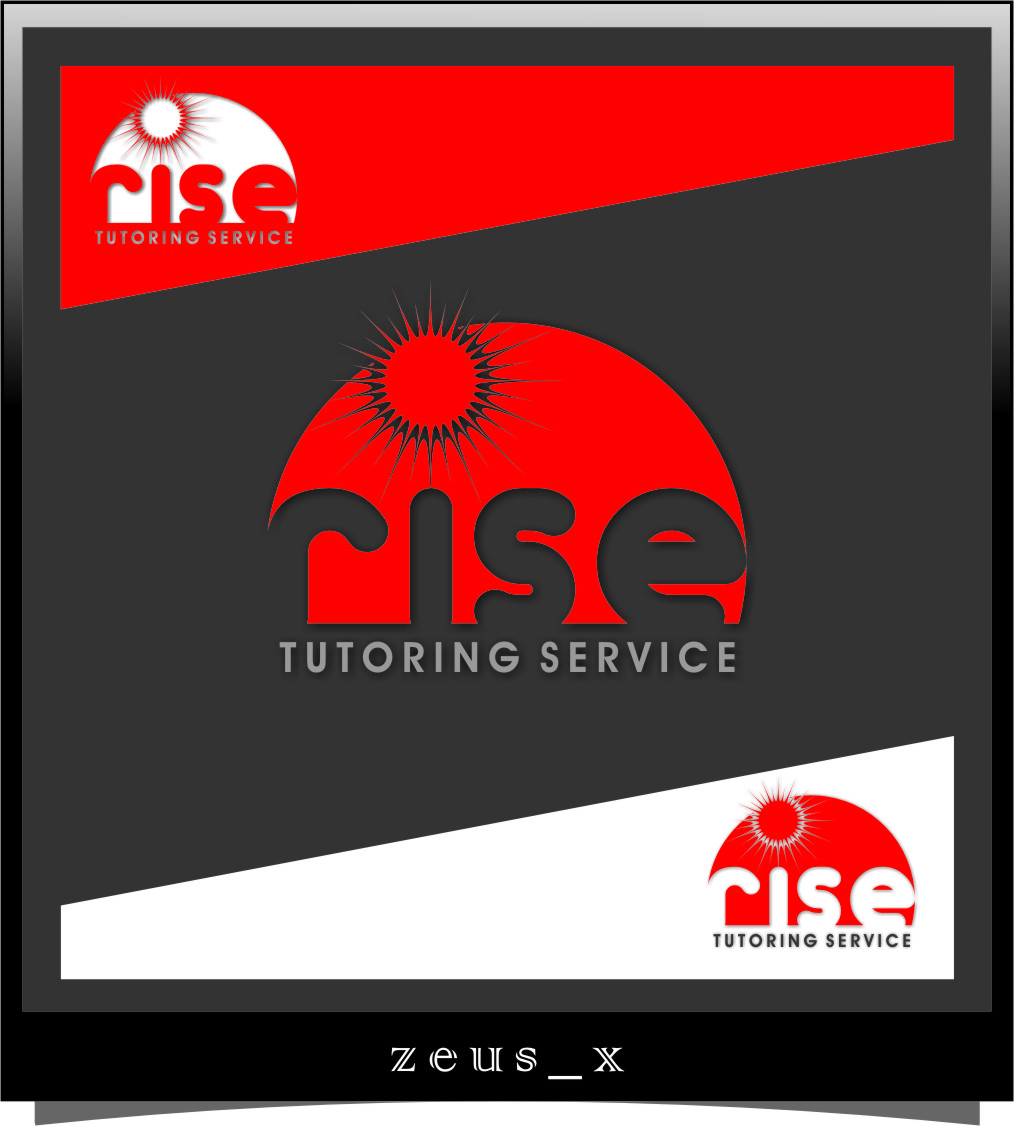 Logo Design by Ngepet_art - Entry No. 177 in the Logo Design Contest Imaginative Logo Design for Rise Tutoring Service.