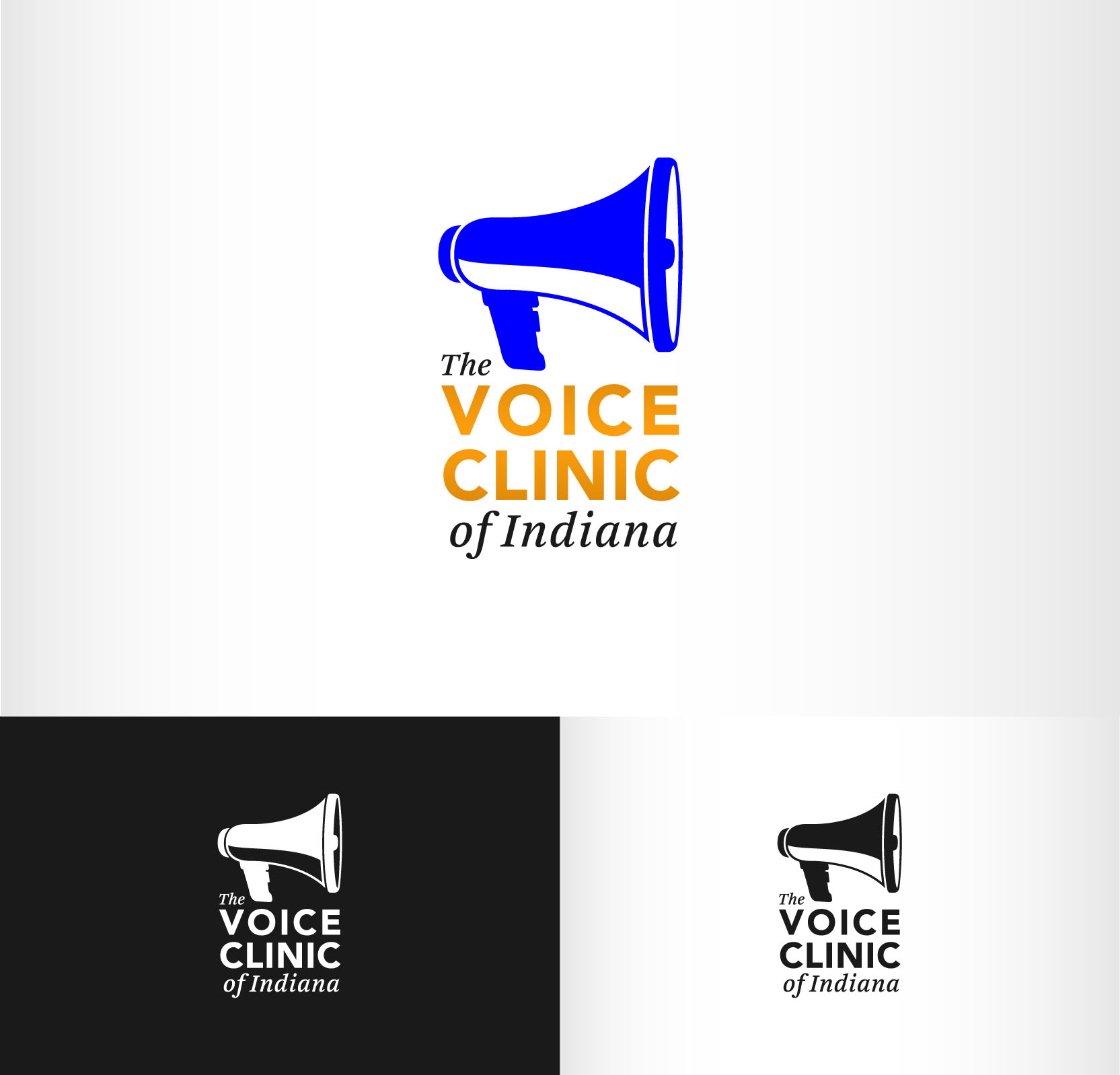 Logo Design by Andrés González - Entry No. 36 in the Logo Design Contest Logo Design for The Voice Clinic of Indiana.