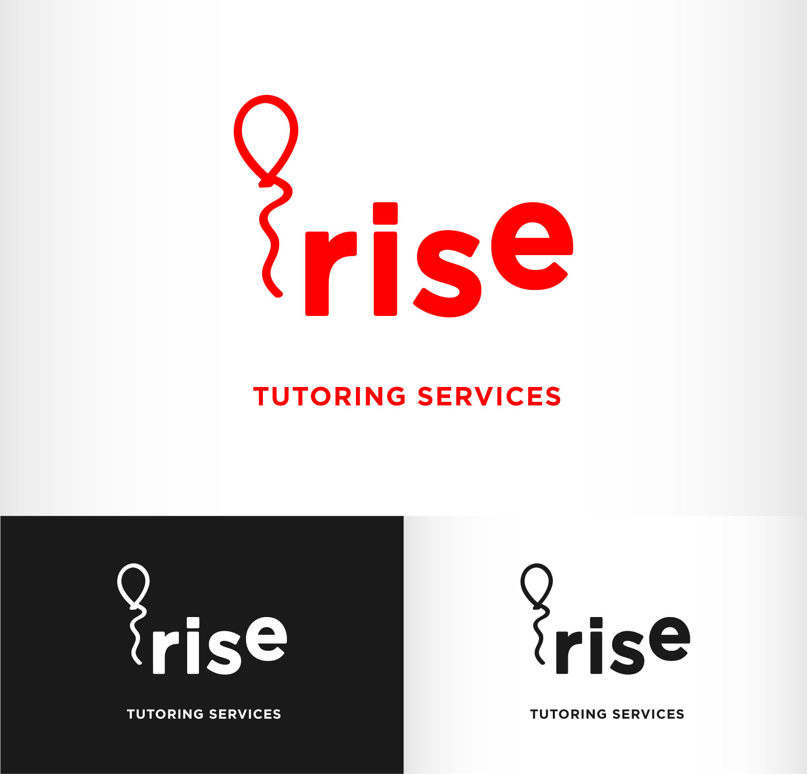 Logo Design by Andrés González - Entry No. 184 in the Logo Design Contest Imaginative Logo Design for Rise Tutoring Service.