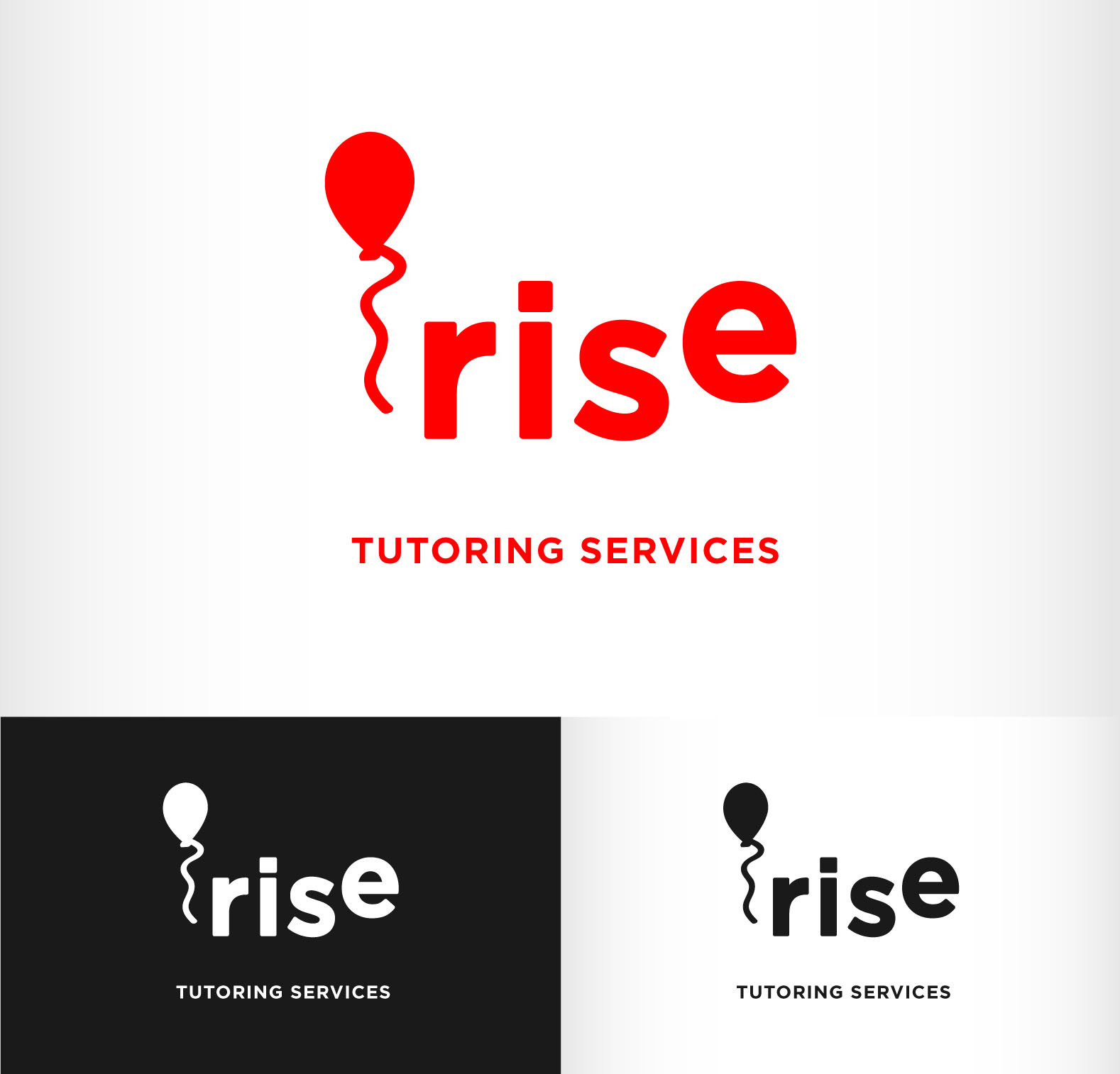 Logo Design by Andrés González - Entry No. 185 in the Logo Design Contest Imaginative Logo Design for Rise Tutoring Service.