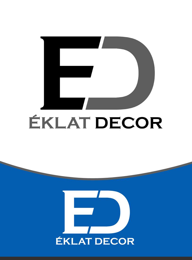 Logo Design by Private User - Entry No. 54 in the Logo Design Contest Imaginative Logo Design for Éclat Decor.