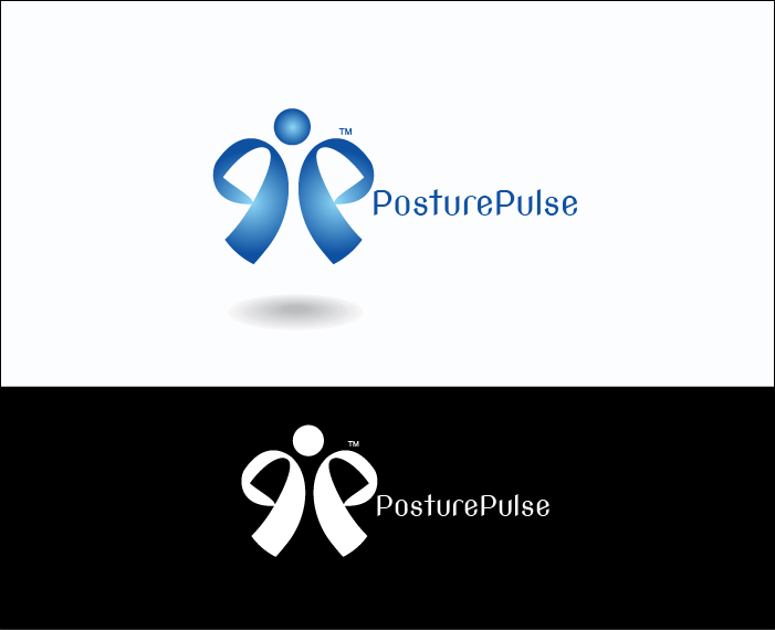 Logo Design by Derel Valarian - Entry No. 75 in the Logo Design Contest Unique Logo Design Wanted for PosturePulse.