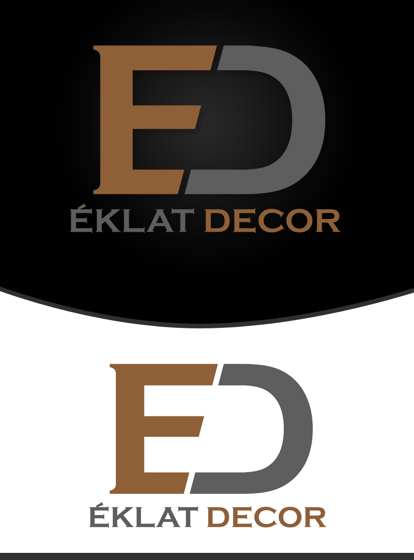 Logo Design by Private User - Entry No. 55 in the Logo Design Contest Imaginative Logo Design for Éclat Decor.