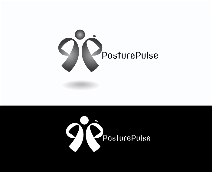 Logo Design by Derel Valarian - Entry No. 76 in the Logo Design Contest Unique Logo Design Wanted for PosturePulse.