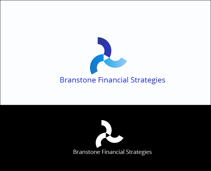 Logo Design by Derel Valarian - Entry No. 268 in the Logo Design Contest Inspiring Logo Design for Branstone Financial Strategies.