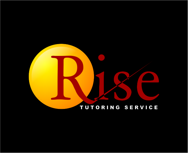 Logo Design by Agus Martoyo - Entry No. 192 in the Logo Design Contest Imaginative Logo Design for Rise Tutoring Service.