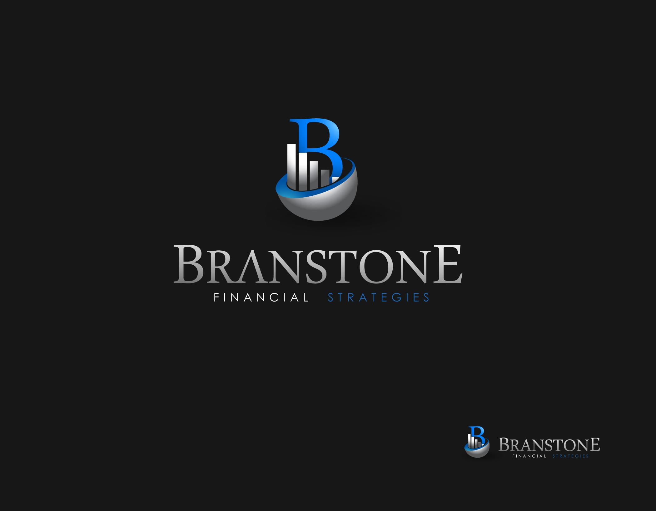 Logo Design by Mark Anthony Moreto Jordan - Entry No. 269 in the Logo Design Contest Inspiring Logo Design for Branstone Financial Strategies.