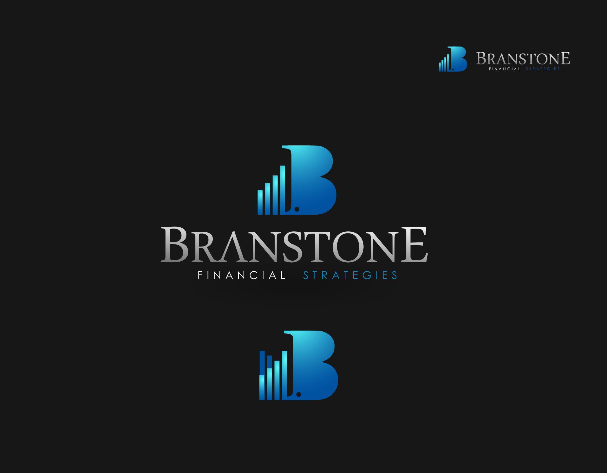 Logo Design by Mark Anthony Moreto Jordan - Entry No. 275 in the Logo Design Contest Inspiring Logo Design for Branstone Financial Strategies.
