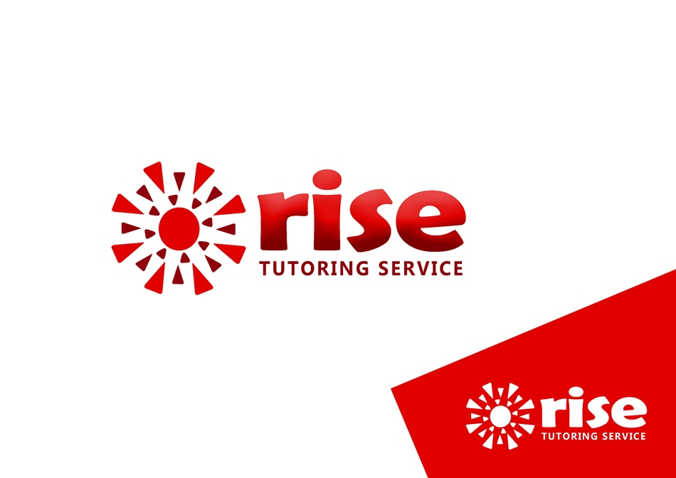 Logo Design by Respati Himawan - Entry No. 198 in the Logo Design Contest Imaginative Logo Design for Rise Tutoring Service.