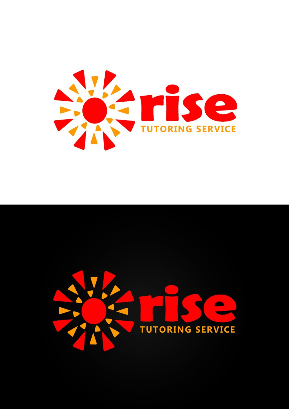 Logo Design by Respati Himawan - Entry No. 199 in the Logo Design Contest Imaginative Logo Design for Rise Tutoring Service.