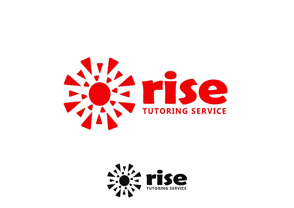 Logo Design by Respati Himawan - Entry No. 200 in the Logo Design Contest Imaginative Logo Design for Rise Tutoring Service.