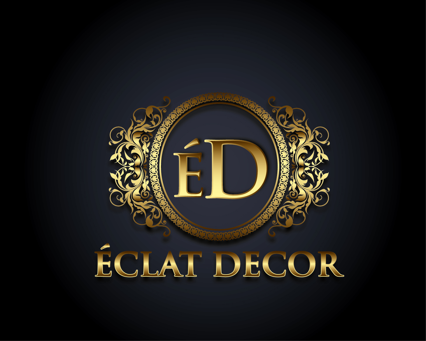 Logo Design by VENTSISLAV KOVACHEV - Entry No. 57 in the Logo Design Contest Imaginative Logo Design for Éclat Decor.