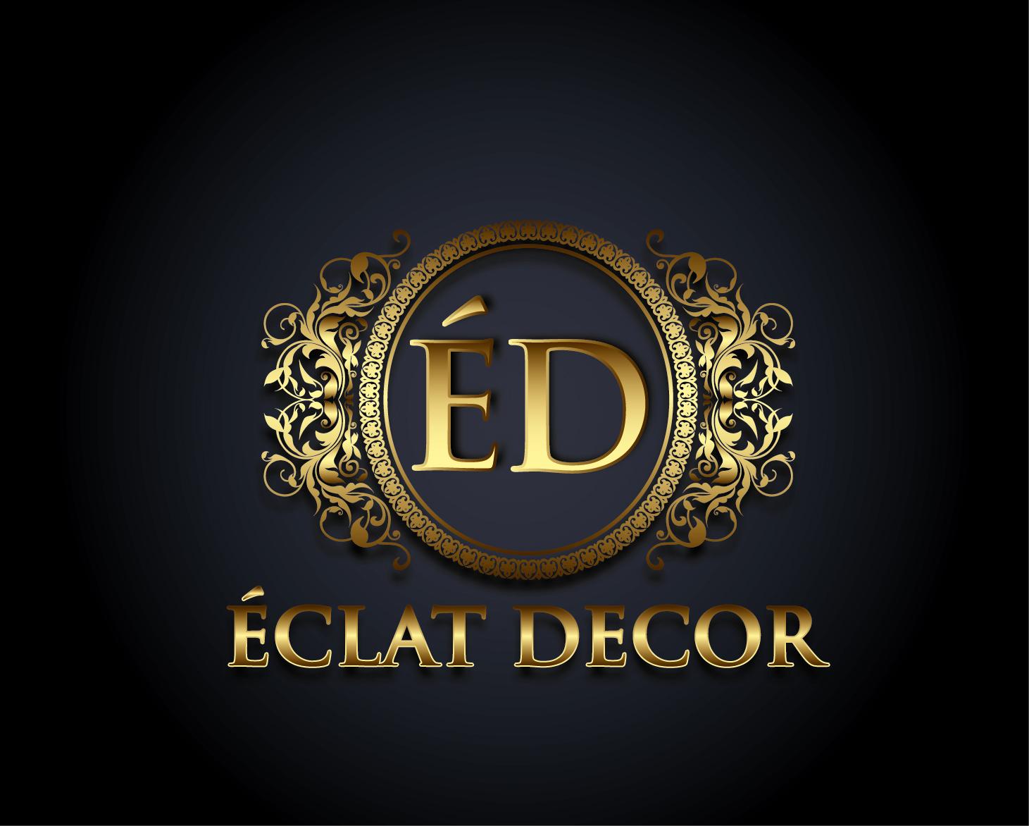 Logo Design by VENTSISLAV KOVACHEV - Entry No. 58 in the Logo Design Contest Imaginative Logo Design for Éclat Decor.