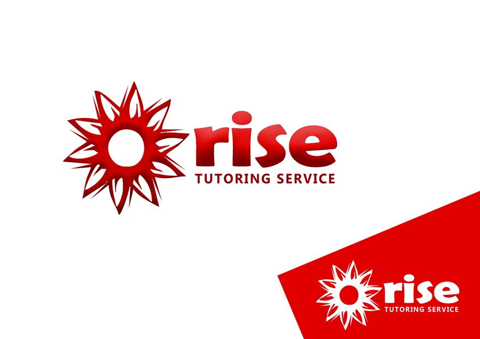 Logo Design by Respati Himawan - Entry No. 203 in the Logo Design Contest Imaginative Logo Design for Rise Tutoring Service.