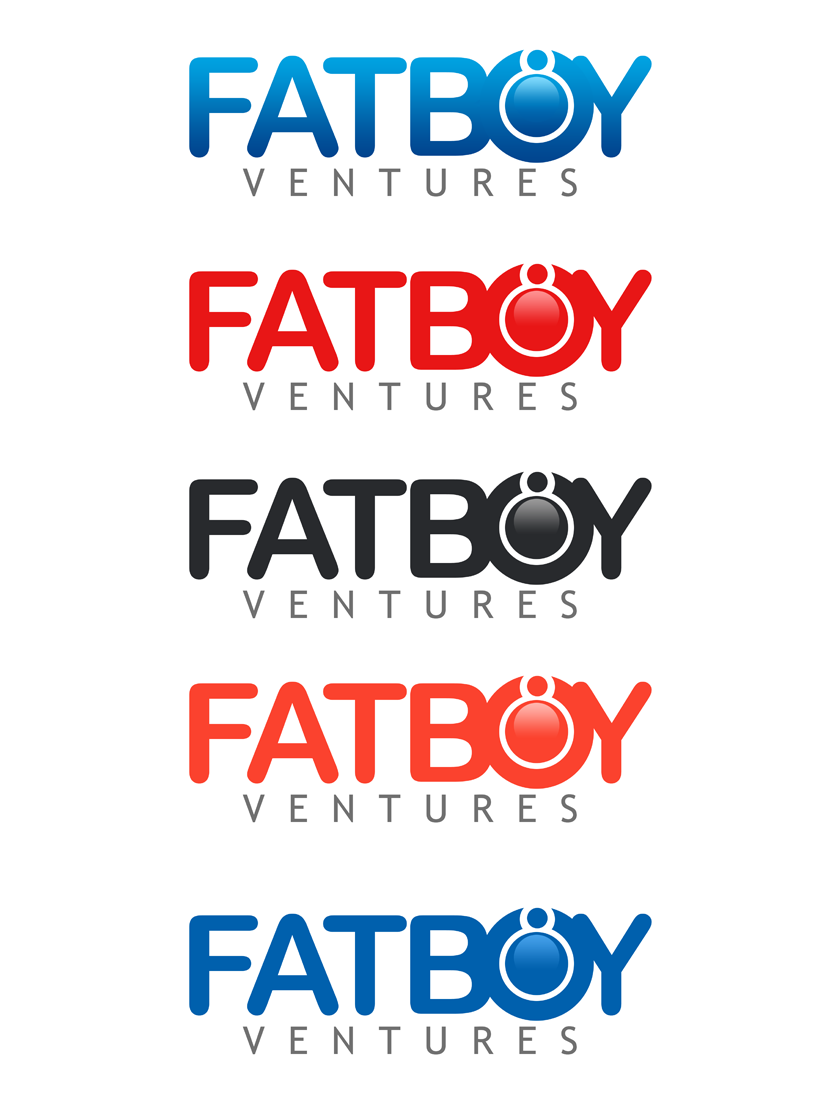 Logo Design by Robert Turla - Entry No. 68 in the Logo Design Contest Fun Logo Design for Fat Boy Ventures.